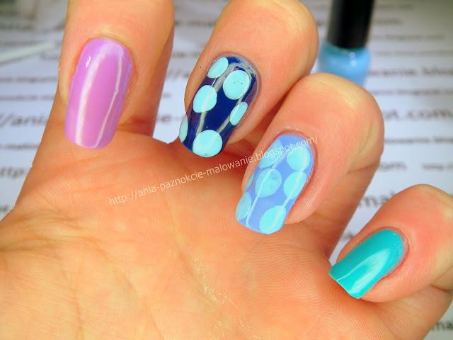 malowanie wzorków lakierem do paznokci