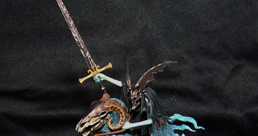 Knight of Shrouds on Ethereal Stead