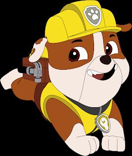 Rubble 2 Patrulha Canina Vetor Grátis Paw Patrol Free Vector Download