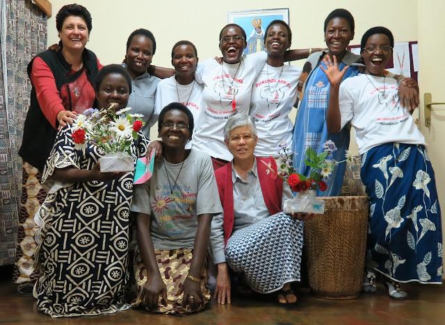 Maite Oiartzun de las Misioneras de África en Burundi