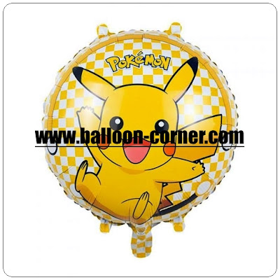 Balon Foil Bulat POKEMON