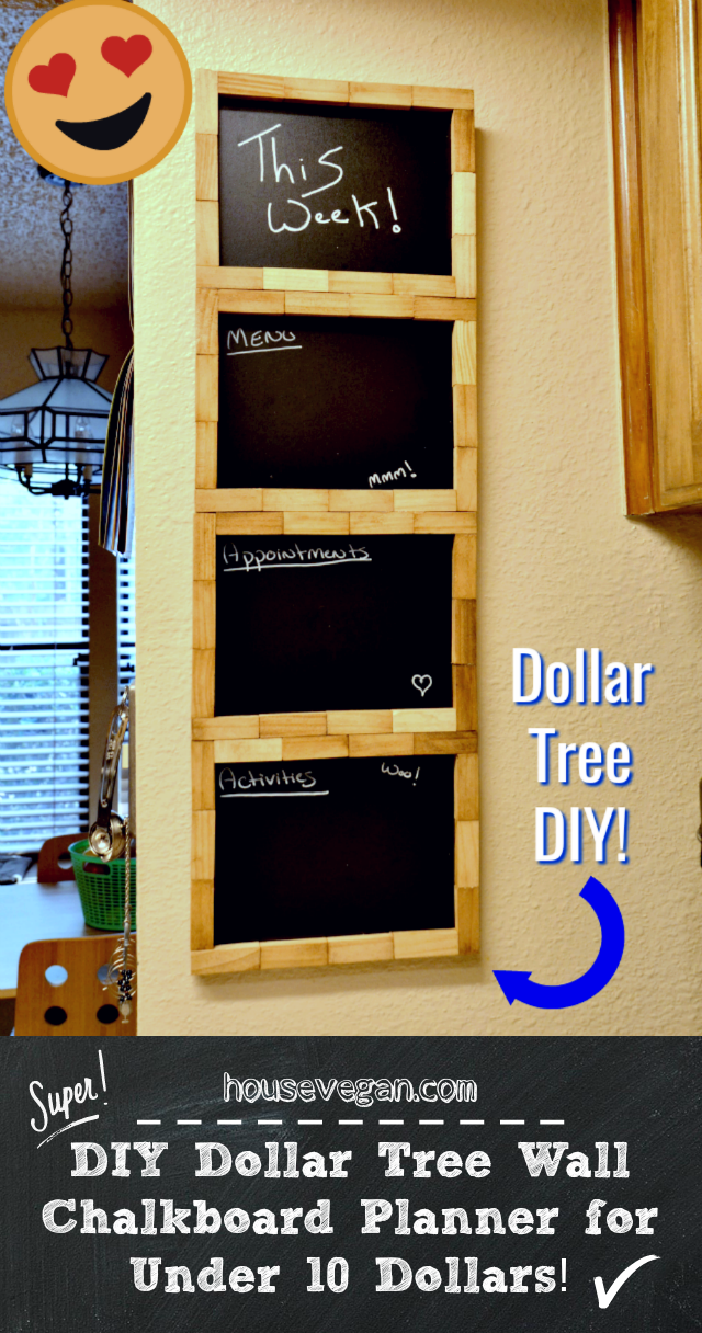 dollar tree diy, dollar tree chalkboard diy, dollar tree wall planner, dollar tree furniture diy, dollar tree diy furniture