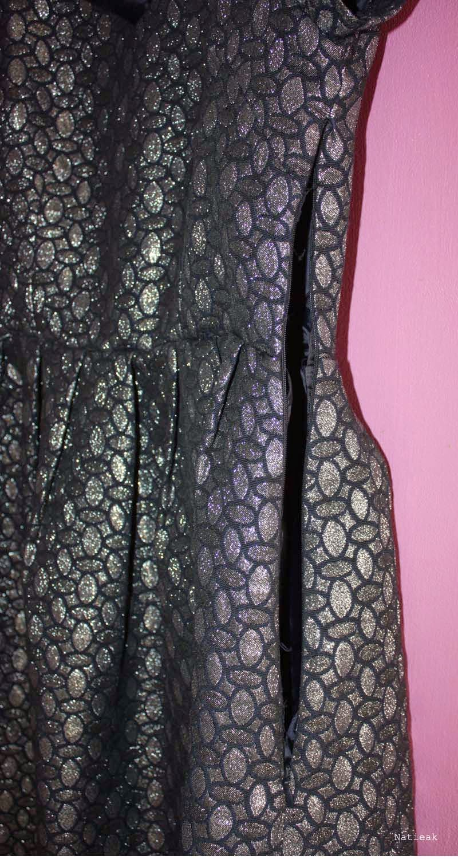 La redoute Robe métallisée