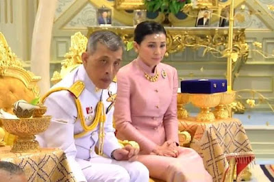 THAILAND'S KING MARRY'S HEAD OF HIS BODYGUARD UNIT