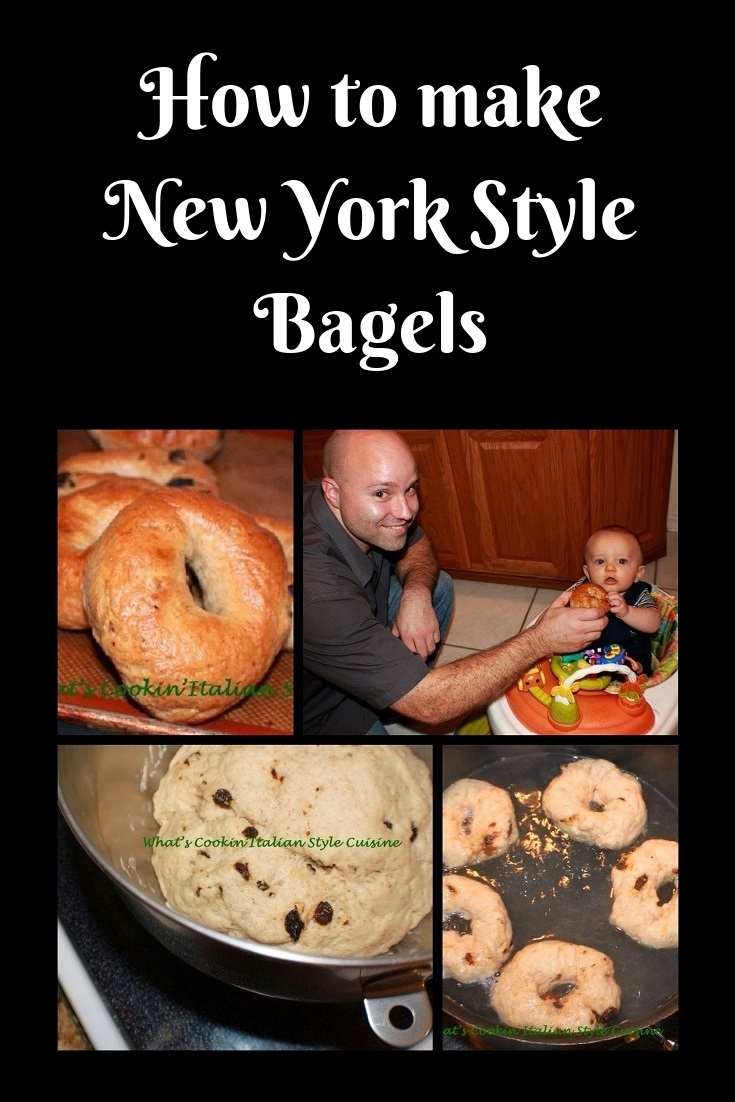 These are New York Style Bagels step by step instructions on how to make them from local bakeries in upstate new york. They are a water bagel, risen and easy recipe to make.