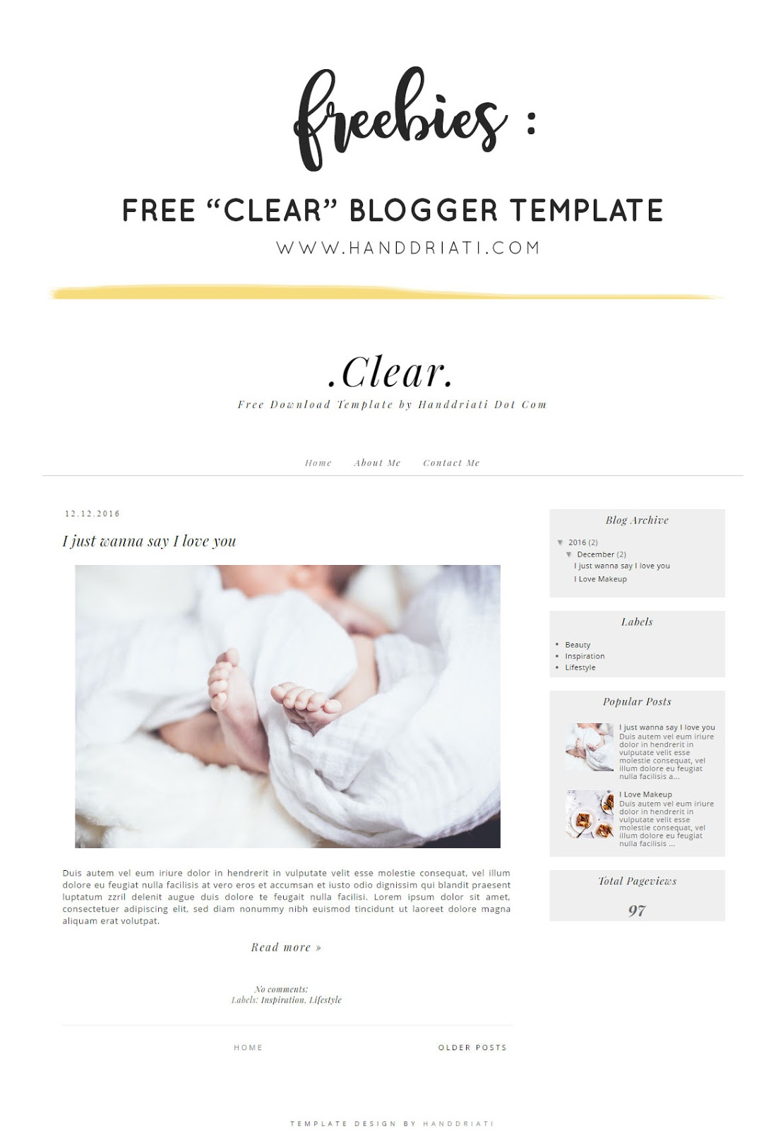 free download template blogger