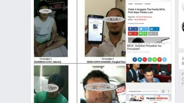 Galak di Medsos, Muslim Cyber Army Mengkeret di Depan Polisi
