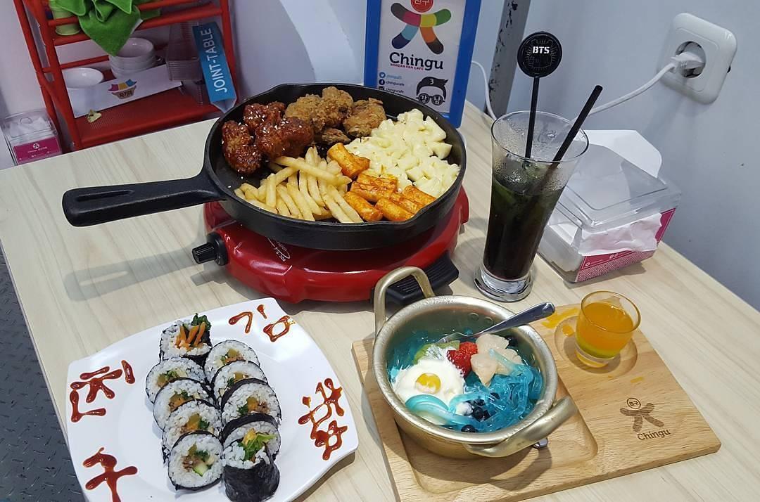 Wisata Kuliner Halal Ala Korean Chingu Cafe Di Bandung Blog Pks