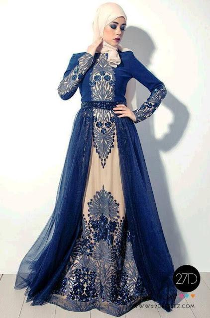 Inspirasi Gaun Muslimah Cantik dan Trendy 2001622
