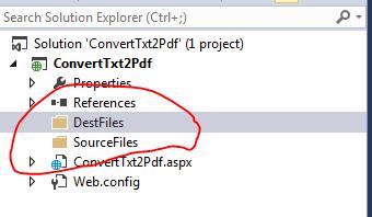 Convert txt File to Pdf Using ItextSharp in C#