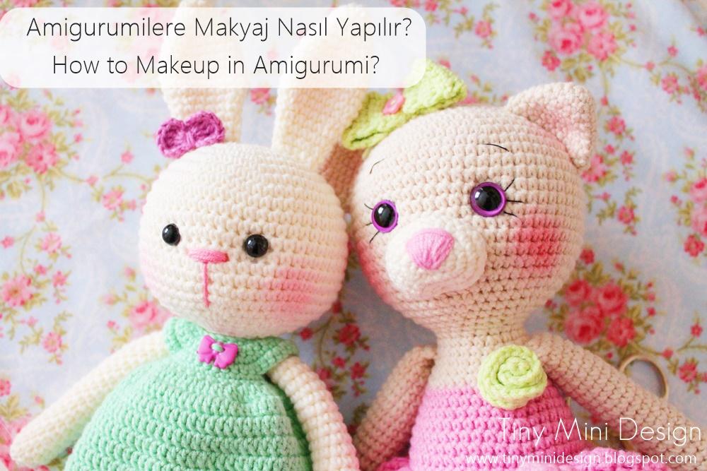 Amigurumi Bebek Tarifleri : Amigurumide oyuncakların yanaklarına nasıl allık verilir how to