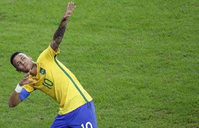 Neymar decide, Brasil vence Alemanha nos pênaltis e consegue 1º ouro