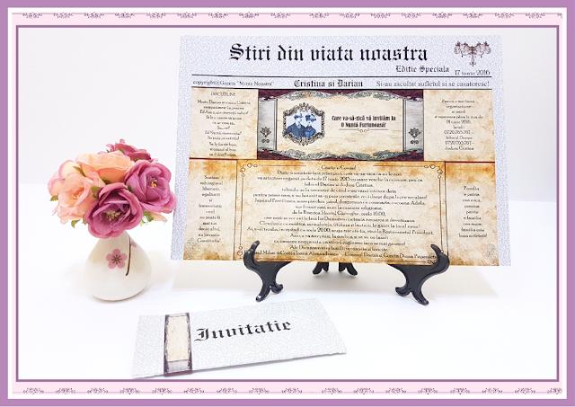 Invitatii Nunta Ziarul Caragiale