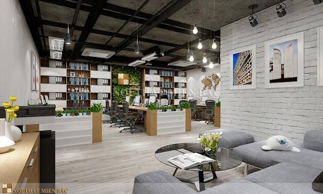Tư vấn thiết kế nội thất văn phòng cực chất cho không gian nhỏ - H1