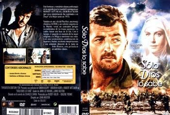 Carátula dvd: Sólo Dios lo sabe