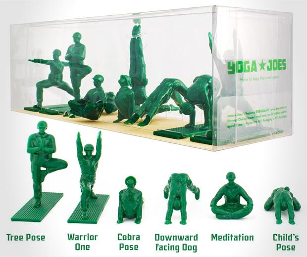 Yoga Joes Soldiers