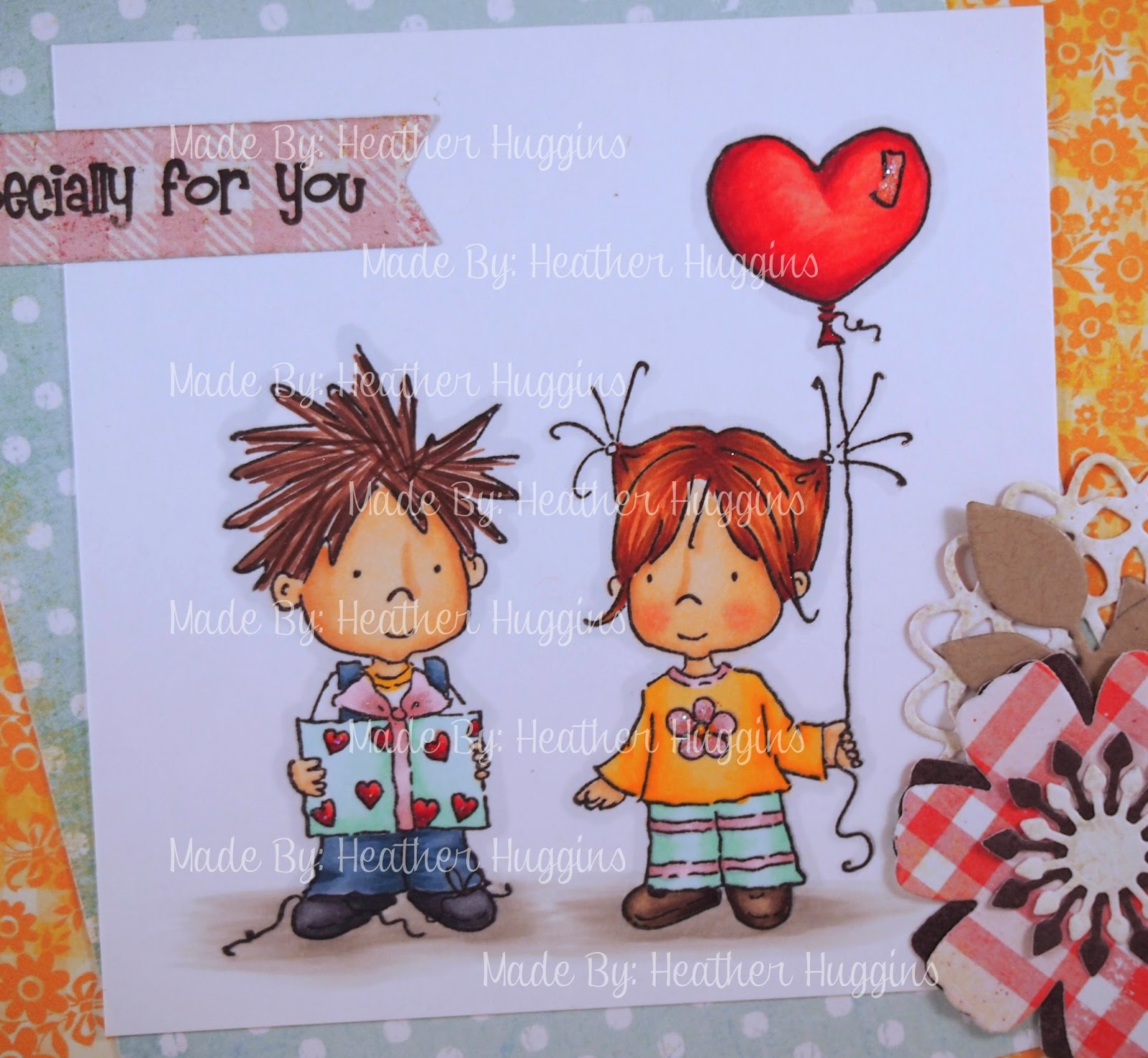 Heather's Hobbie Haven - Millie & Milo Exchange Prezzies Card Kit
