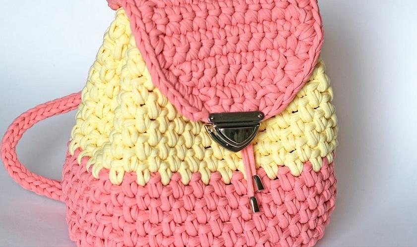 Mochila de crochê - Como Fazer