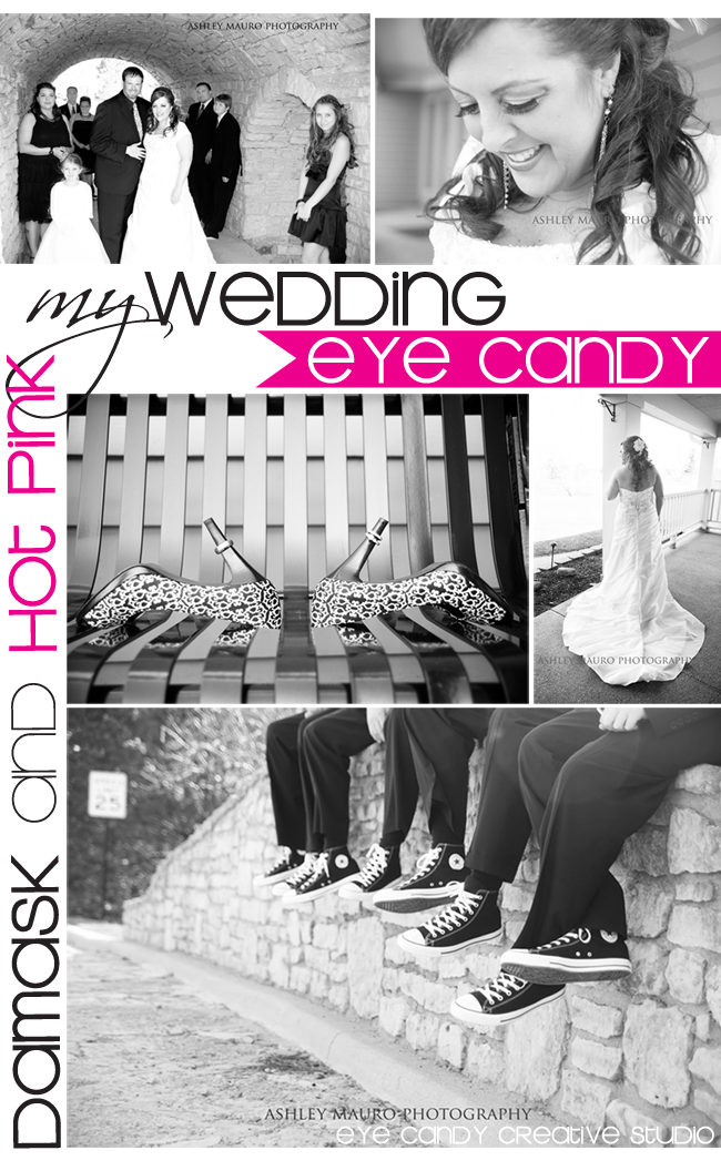 wedding, my wedding, black & white wedding, damask wedding, chucks