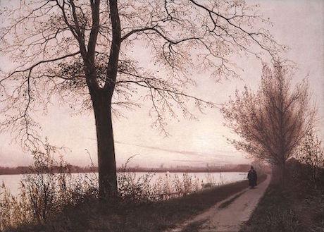 Art Talk - foredrag om kunst. Christian Købke: Efterårsmorgen ved Sortedamssøen, 1838
