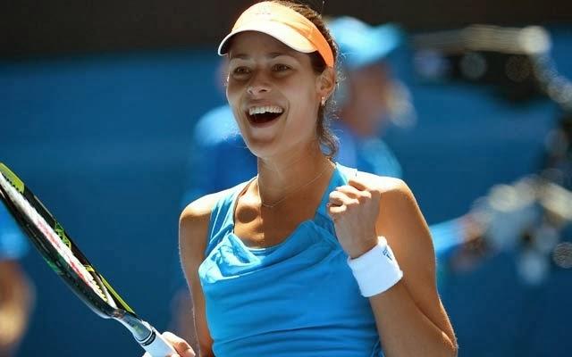 Ana Ivanovic começou o ano vencendo o torneio de Auckland dbb62ad0a21f6
