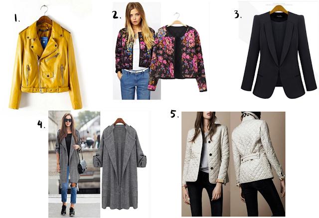 Wihslist: Casacos, blazers e jaquetas femininas da Doklok