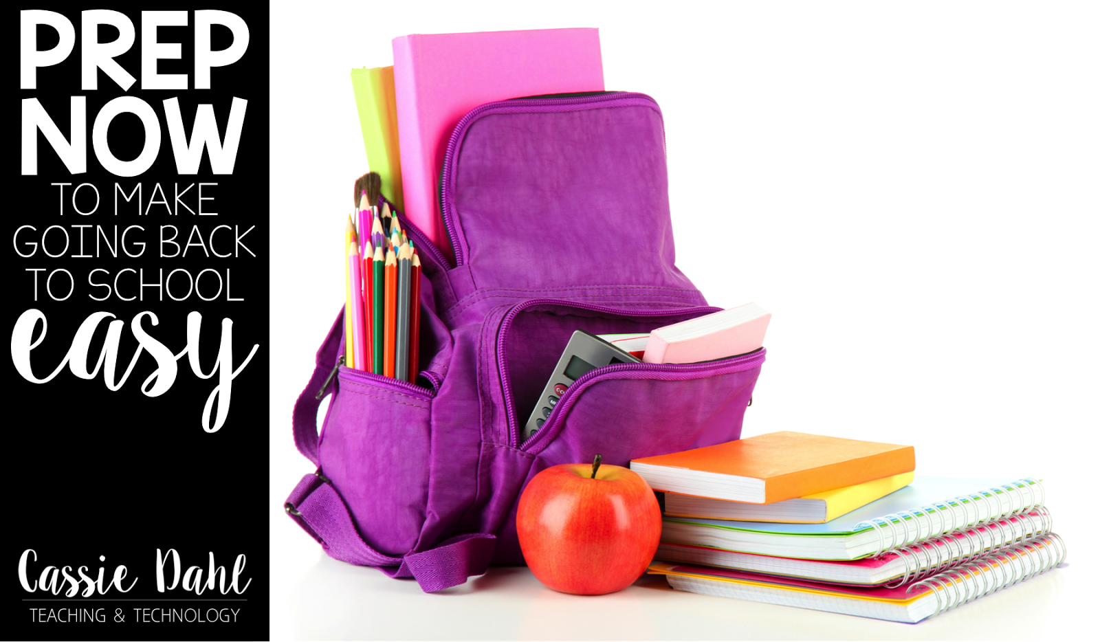 Going Back to School is stressful for every teacher. There never seems to be enough time in the day to get everything prepped and perfect for your students. Don't stress this fall! Check out this blog post packed with ideas and a freebie to make back to school planning even easier!