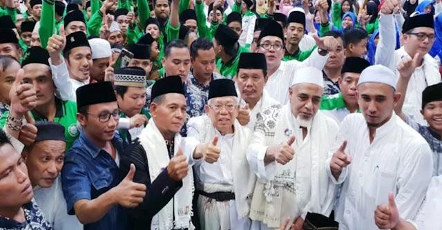 Hadiri Istighosah, Ma'ruf: Berharap Nanti Ada Kader NU Jadi Presiden