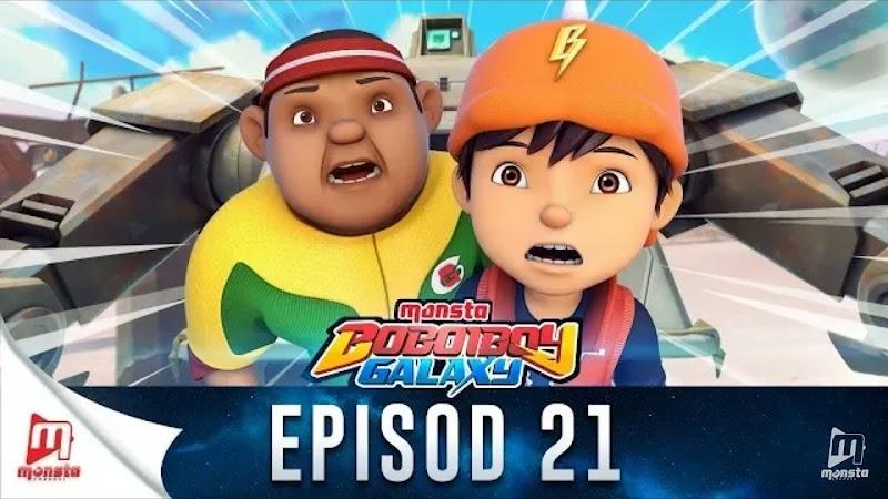 BoBoiBoy Galaxy Episode 21 - Jagara Si Jaga