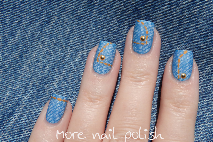 Jeans Nails For Jeans For Genes Days More Nail Polish