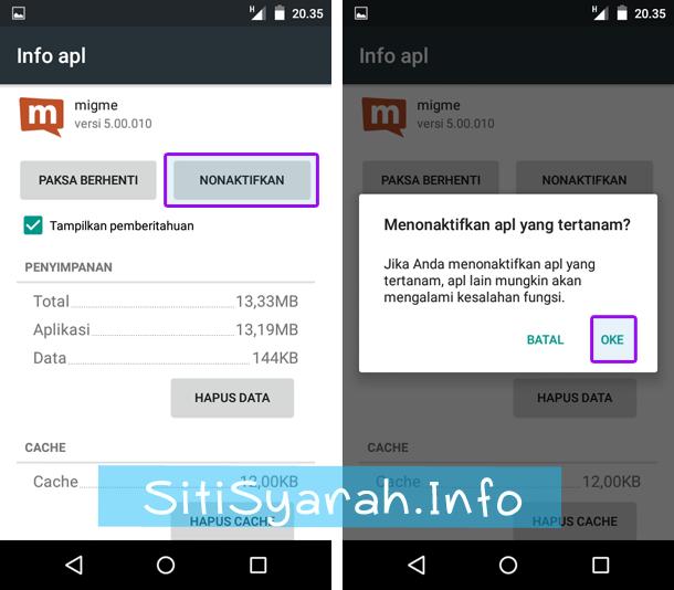hapus aplikasi bawaan android tanpa root