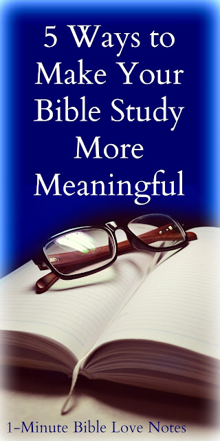 Matthew 4:4, James 1:15, Bible study enhancement, Important to study Bible