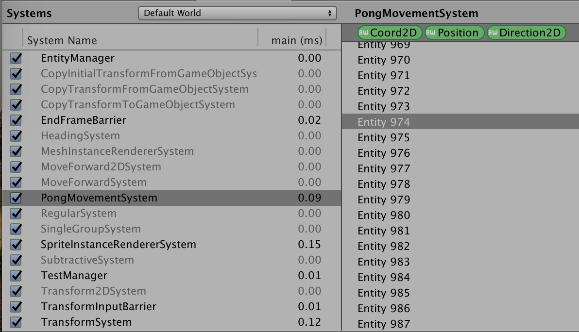 Programming Rants: Rendering Sprite using ECS and JobSystem in Unity