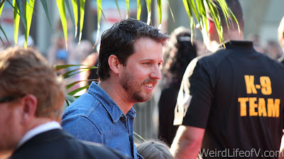 Jon Heder on the red carpet
