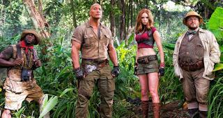 primer poster de la secuela de jumanji bienvenidos a la jungla
