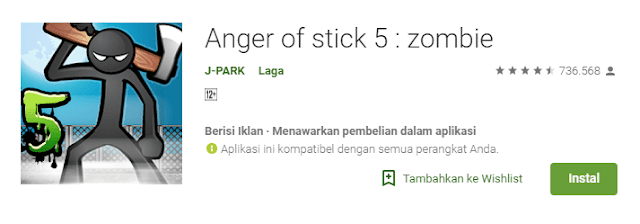 Download Games Anger Of Stick 5 Zombie Apk Android Terbaru