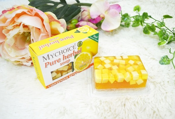 MyChoice Pure Herbal Fruity Soap with Lemon Extract review