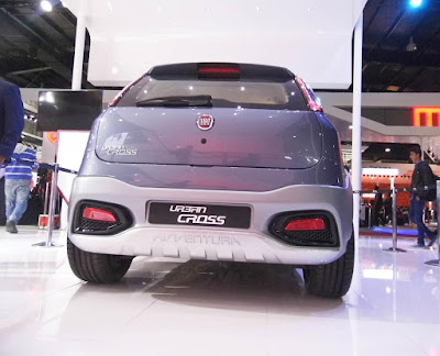 2016 Fiat Urban Crossover back look