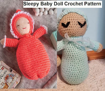 Sleepy Baby Doll Crochet Pattern