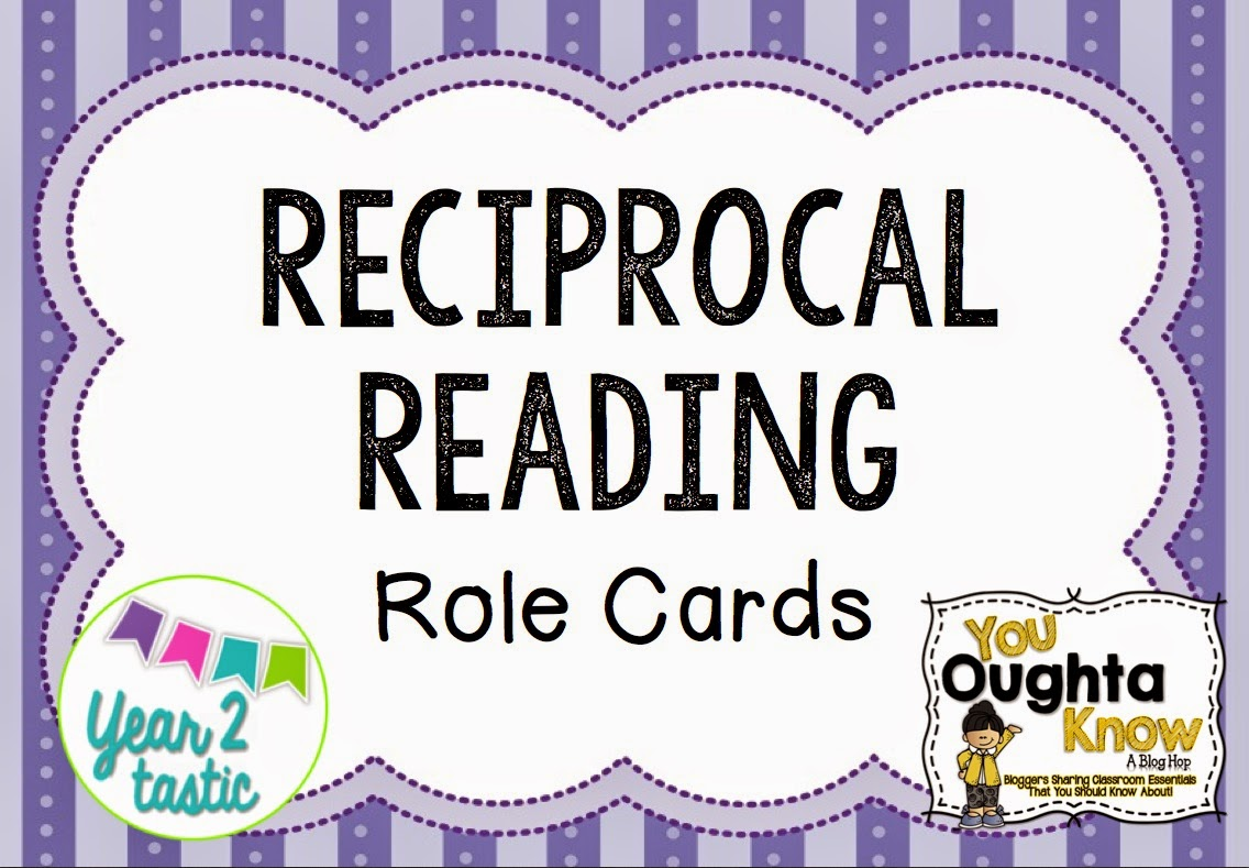 Year2tastic You Oughta To Know About Reciprocal Reading