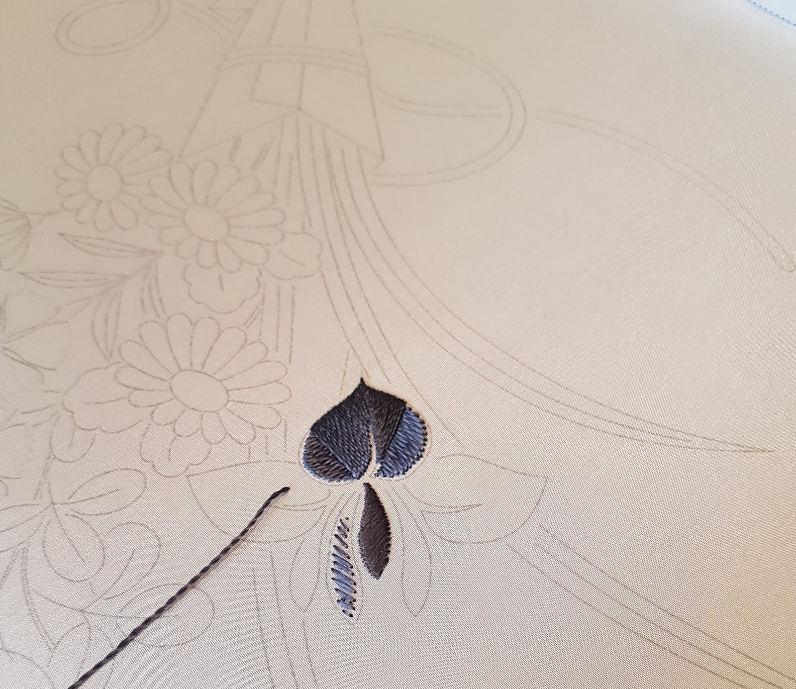 D1D2: Japanese Embroidery Phase 1 - part 3