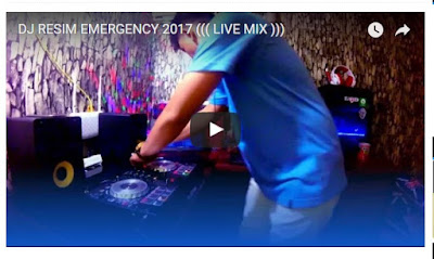 DJ Remix Resim Emergency 2017 Live Mix