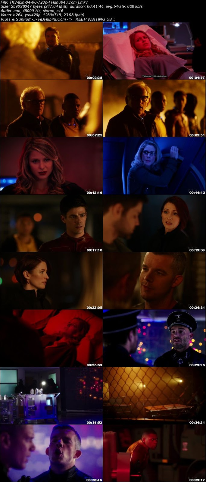The Flash S04E08 HDTV 720p 200MB Download