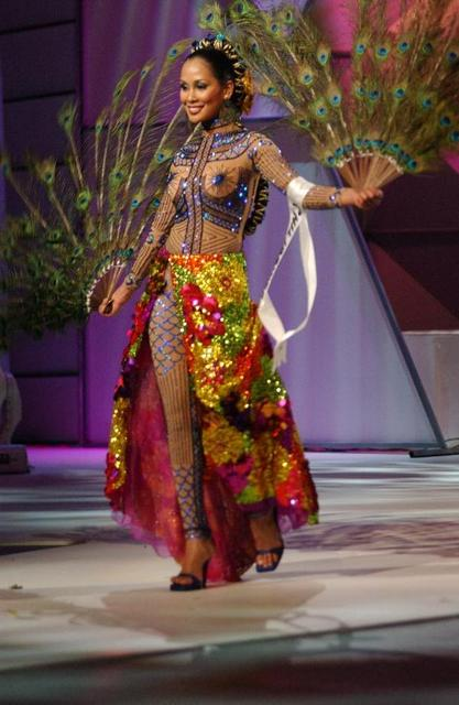 MISS PHILIPPINES' RECYCLED NATIONAL COSTUME