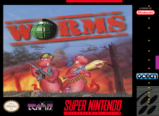 Worms [ SNES ]