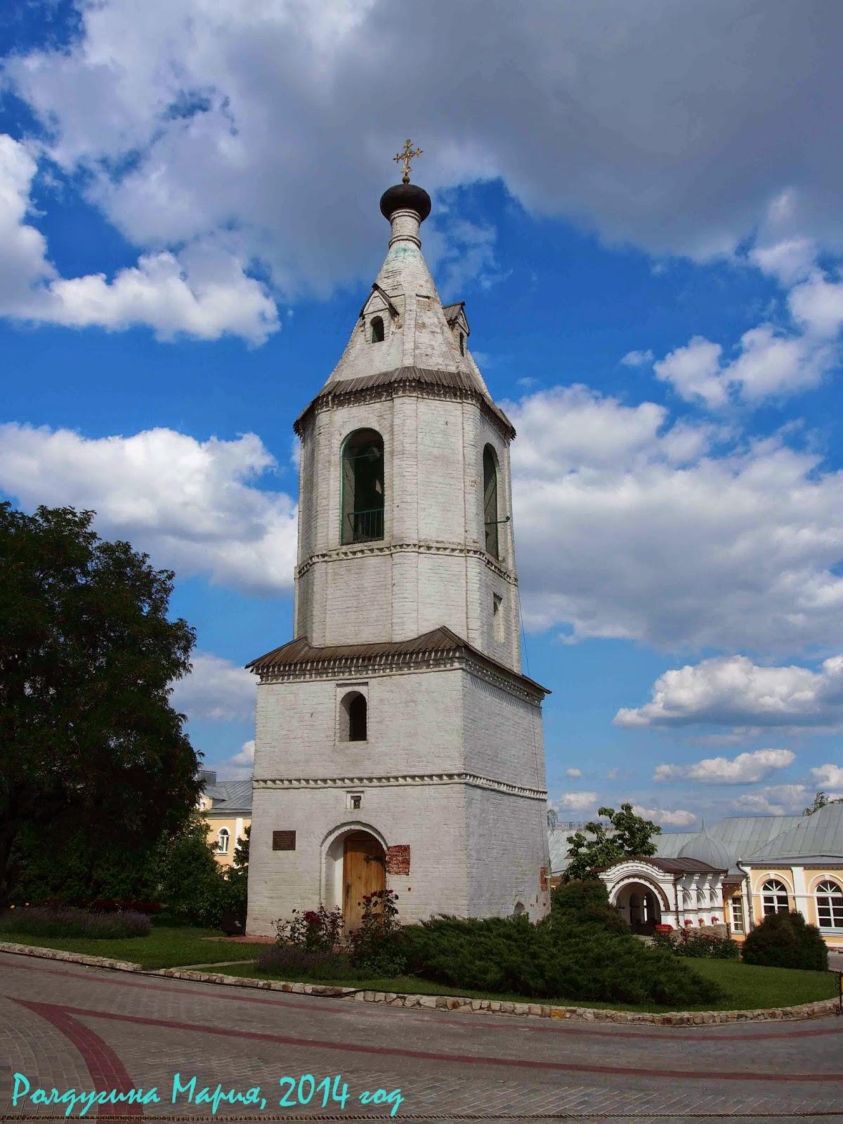 воронеж церковь колокольня