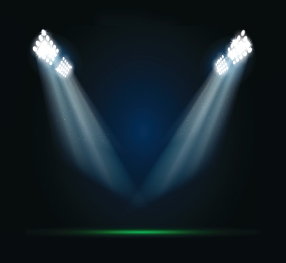 Stadium Lights Photoshop Brush: Martin Jamison: Football And Photoshop
