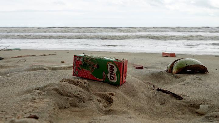 Sự tàn phá của Tetra Paks bao trùm các bãi biển và thị trấn của Việt Nam