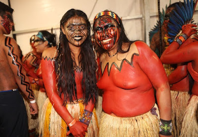 Kenewma e sua Mãe Mariazinha Yawanawá1