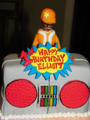 Plumeria Cake Studio Yo Gabba Gabba Birthday Cake